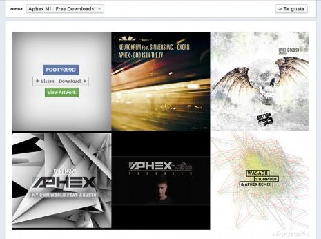 Aphex Facebook
